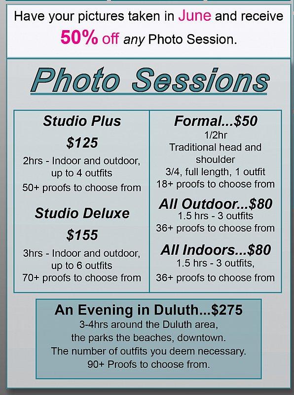 Grad Pricing - Duluth Grad Photographer - www